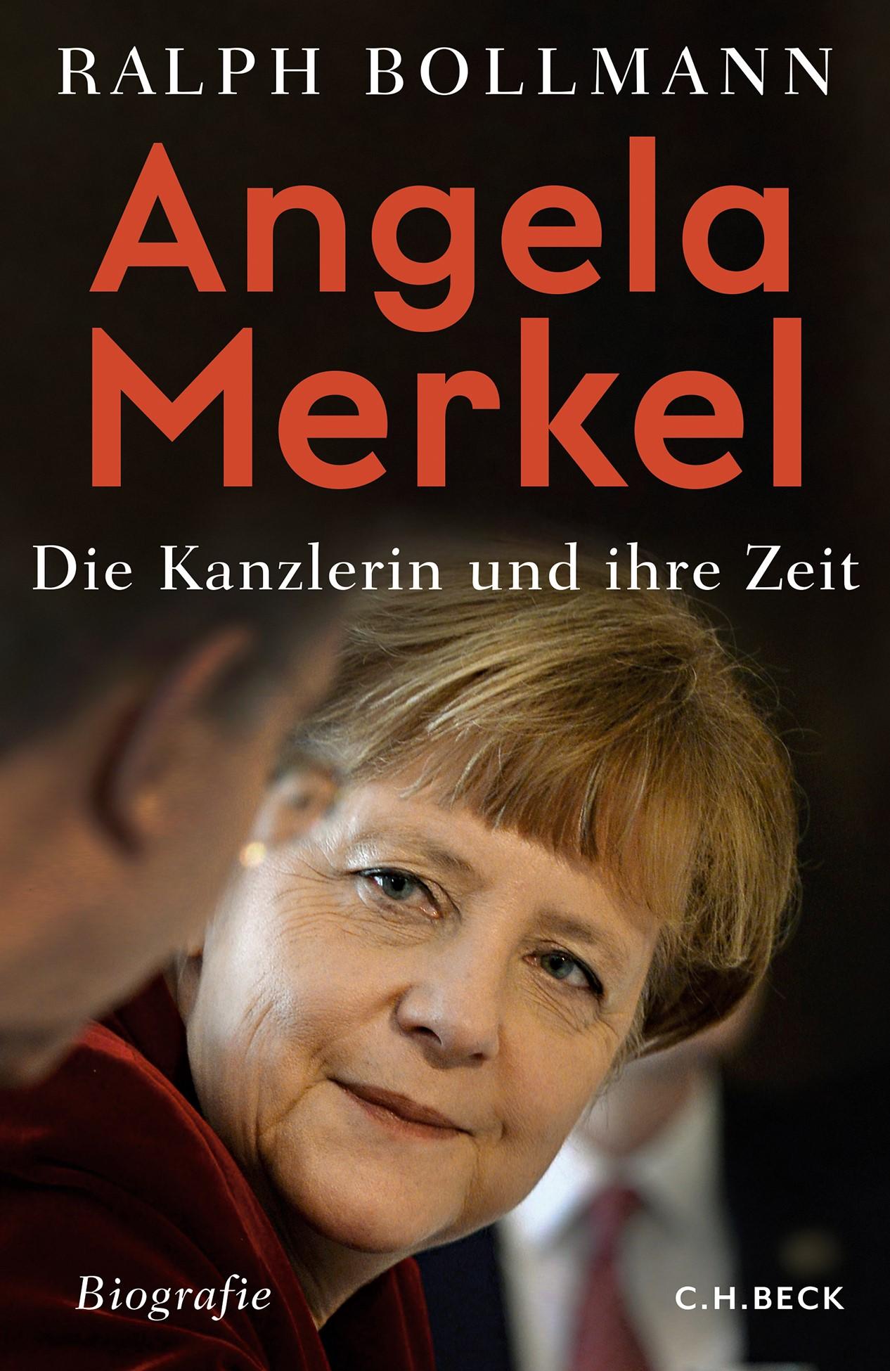 Cover Merkel-Biographie